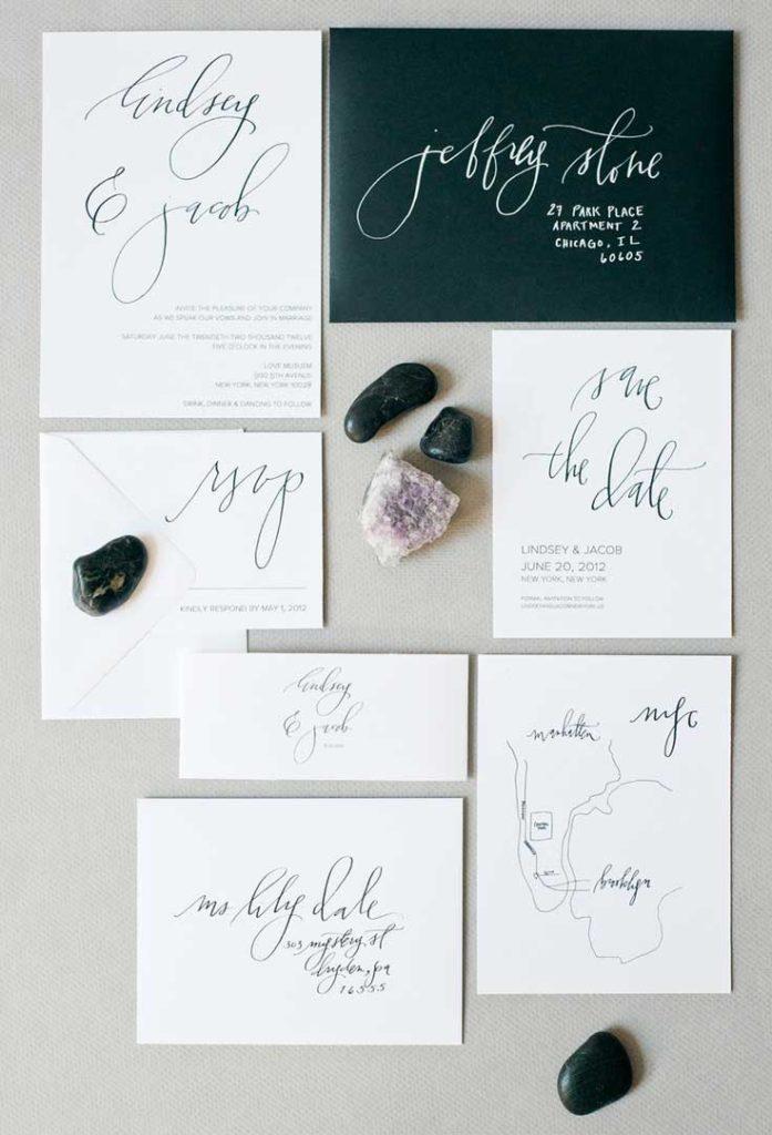 Esempio Partecipazioni Matrimonio: foglio singolo