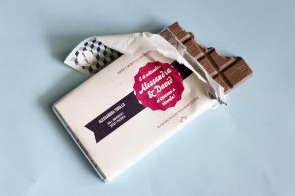 Partecipazioni Matrimonio Cioccolato.22 Idee Per Le Partecipazioni Di Matrimonio Forse Anche Troppe