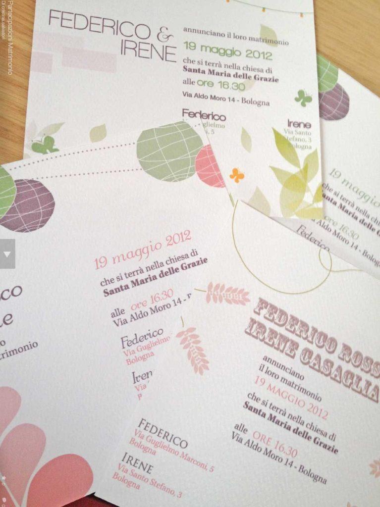 Come scrivere le partecipazioni di nozze: il flyer