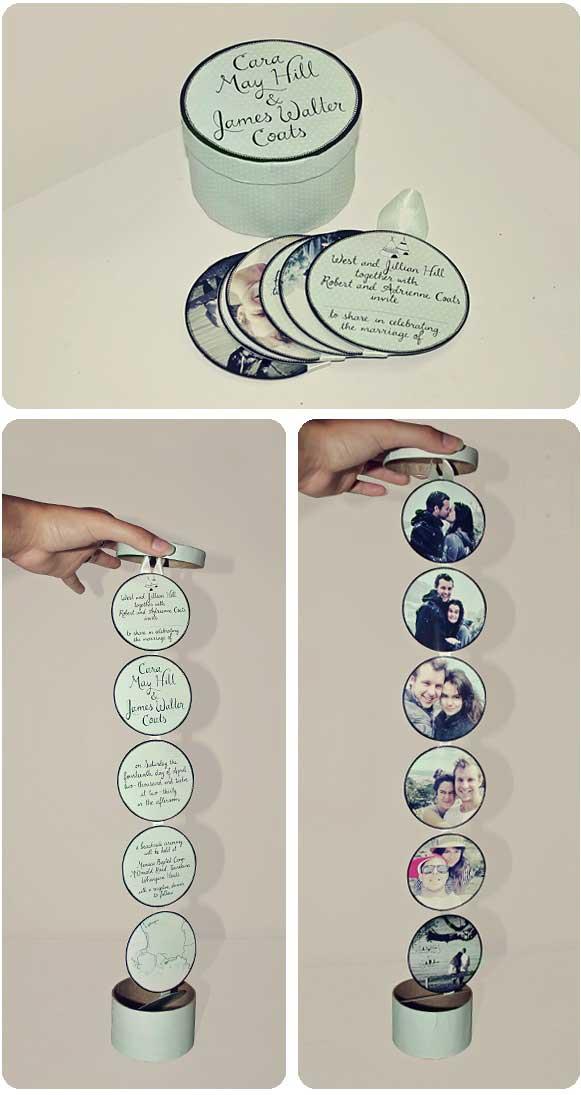 Idee Partecipazioni Matrimonio Fai da te - Scatolina di latta