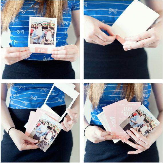 Partecipazioni Matrimonio: A la Polaroid