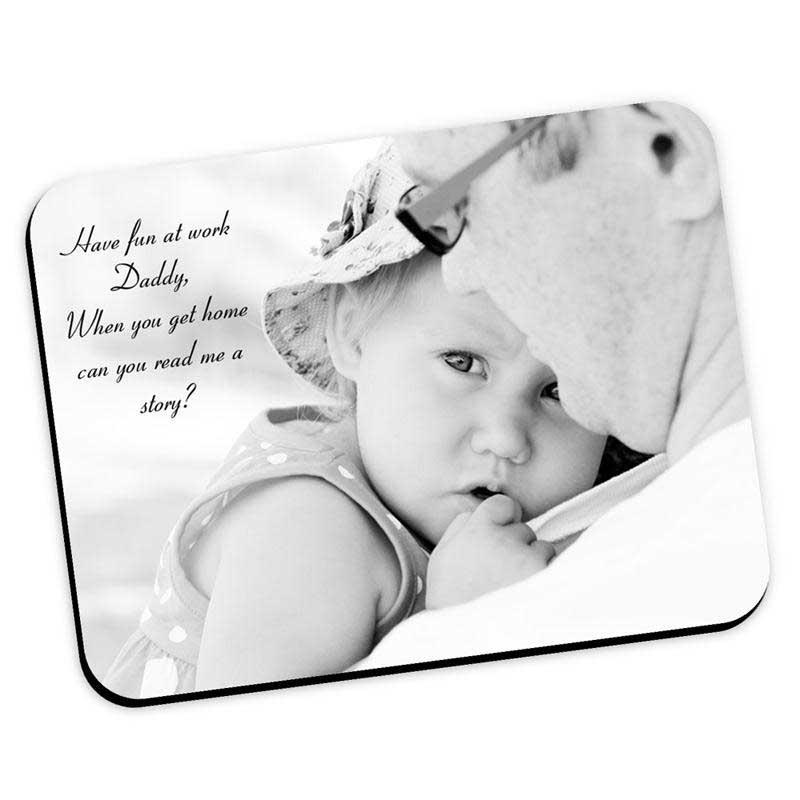 idee regalo festa del papà: tappetino per mouse personalizzato