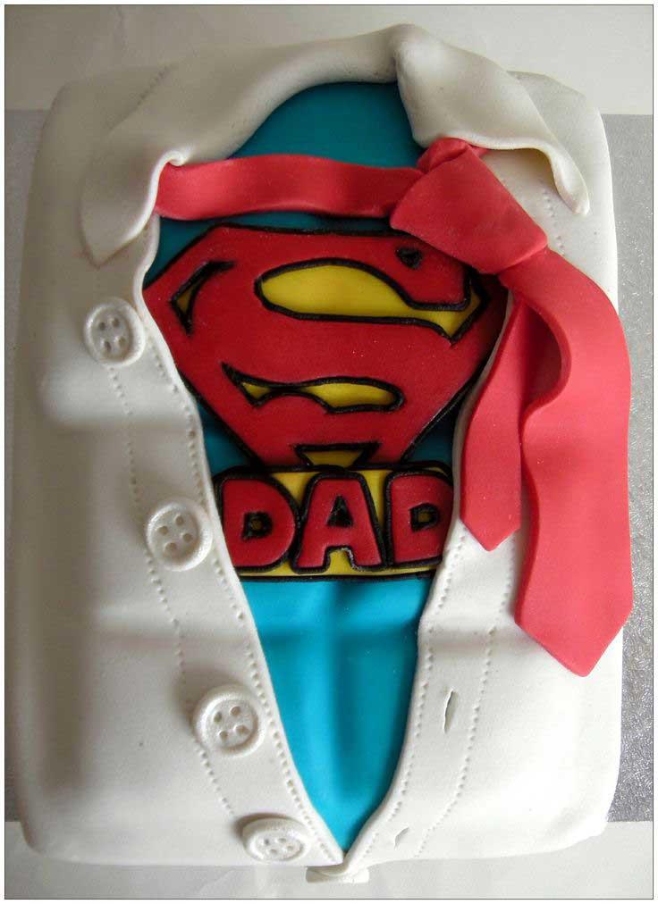 Torta per auguri festa del papà
