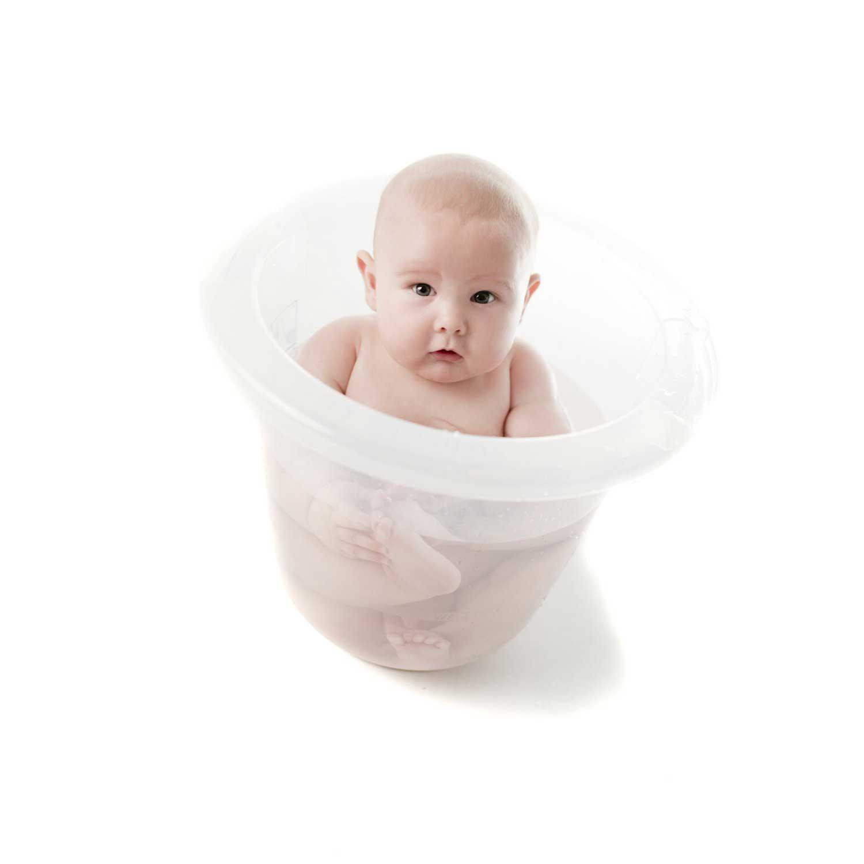 Cosa regalare ad un Battesimo: Vaschetta da bagno per bebè TummyTub