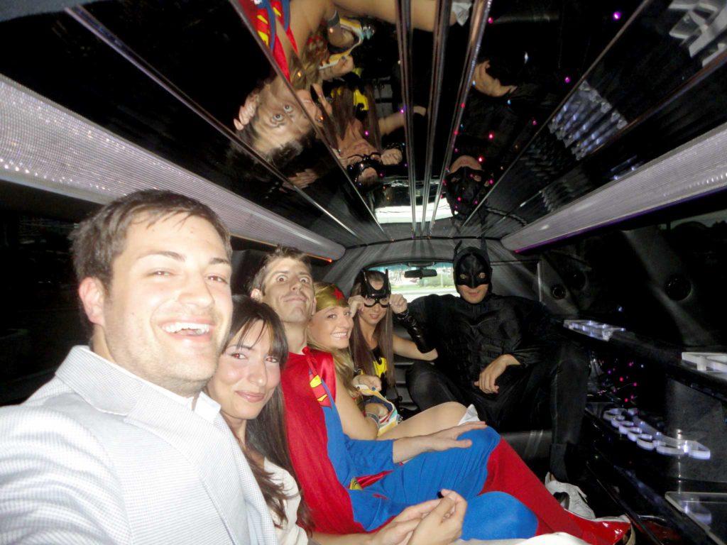 sposarsi a las vegas - supereroi in limousine