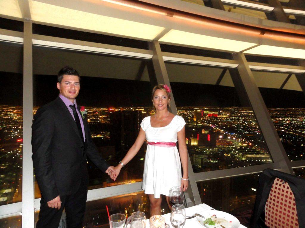sposarsi a las vegas - foto ricordo al ristorante