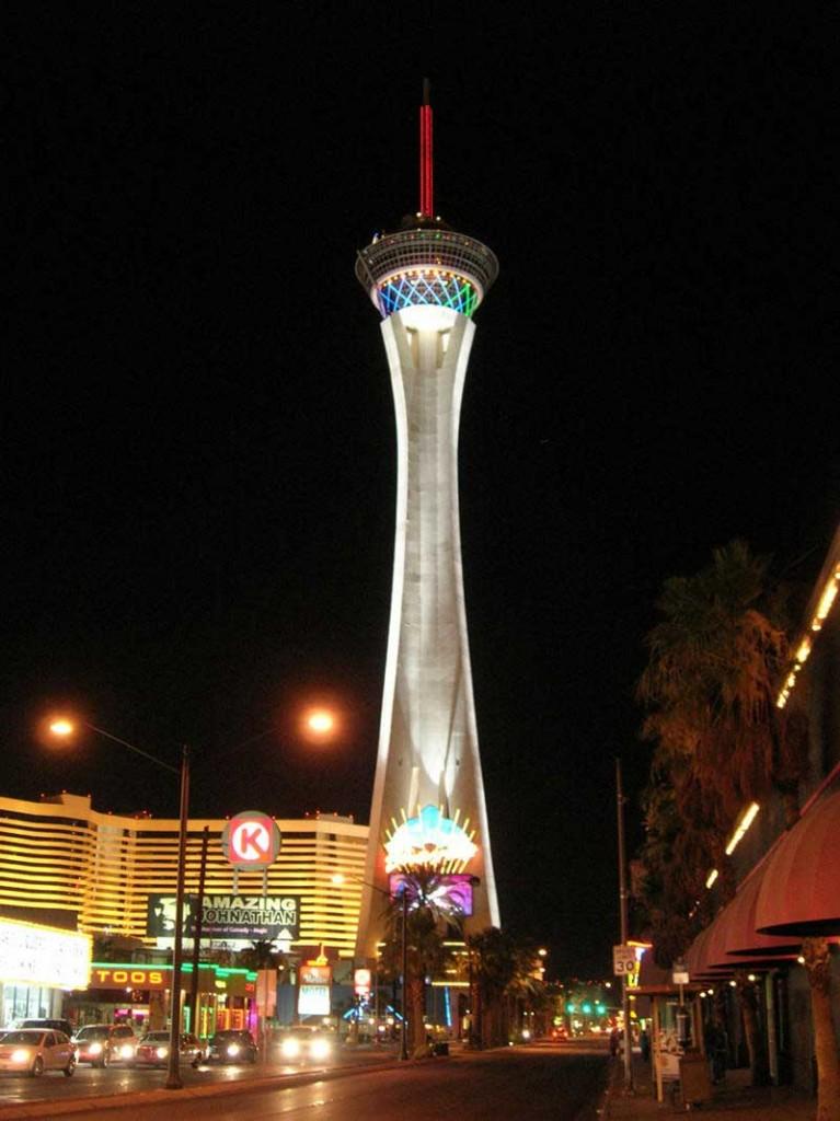 sposarsi a las vegas - cena alla stratosphere tower