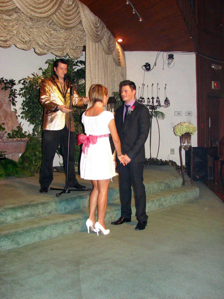 sposarsi a las vegas - cerimonia con elvis