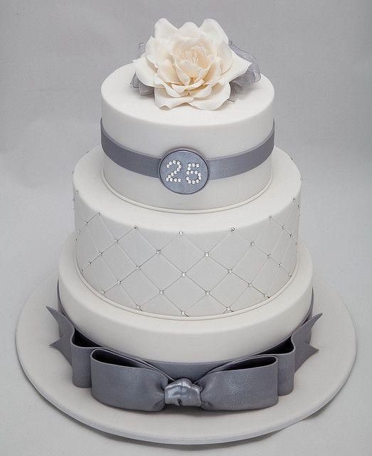 torta nuziale 25 anni di matrimonio
