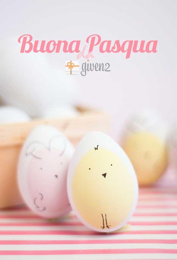 Lavoretti di Pasqua per Bambini - Auguri di Buona Pasqua da Given2