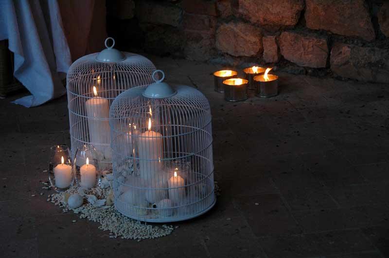 decorazioni con candele festa di compleanno a tema