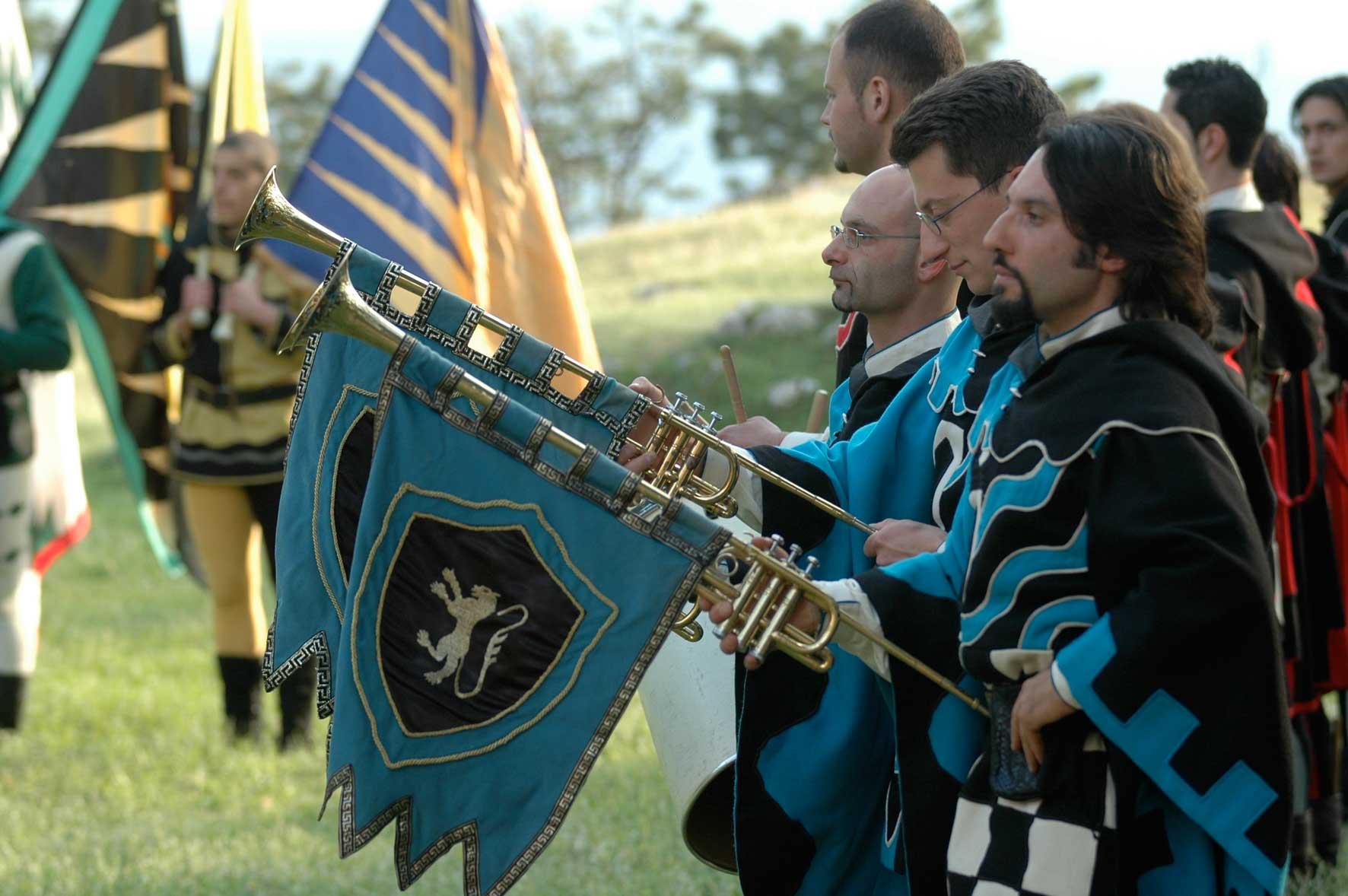 festa a tema medievale
