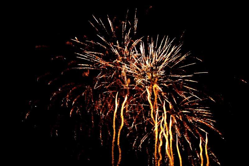 Festa di compleanno a tema: i fuochi d'artificio