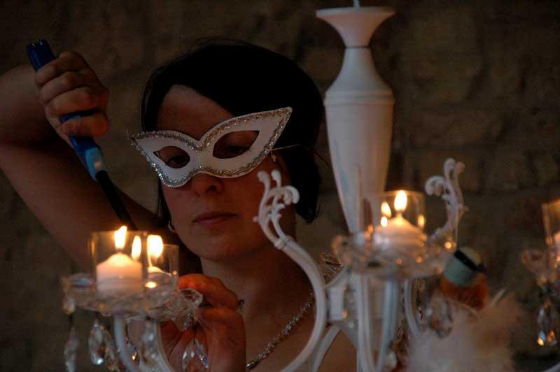 Festa di compleanno a tema in maschera