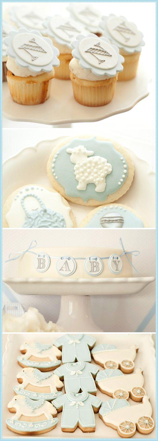 Organiser un baptême gateaux cupcake