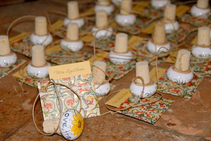 Compleanno 50 Anni: Tappi di sughero dipinti a mano