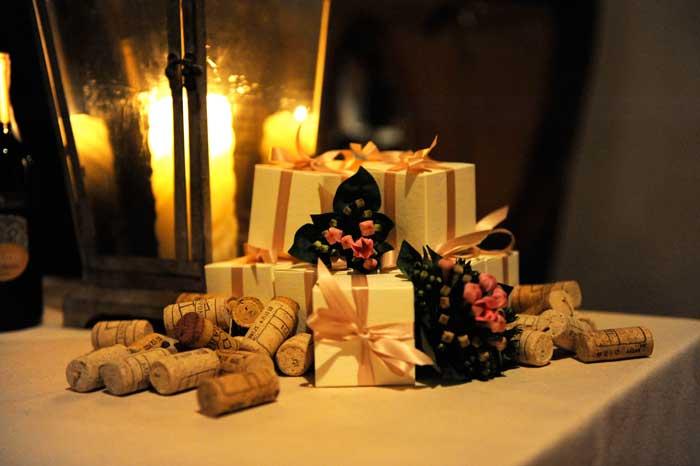 Matrimonio Country Tema Vino: Le bomboniere