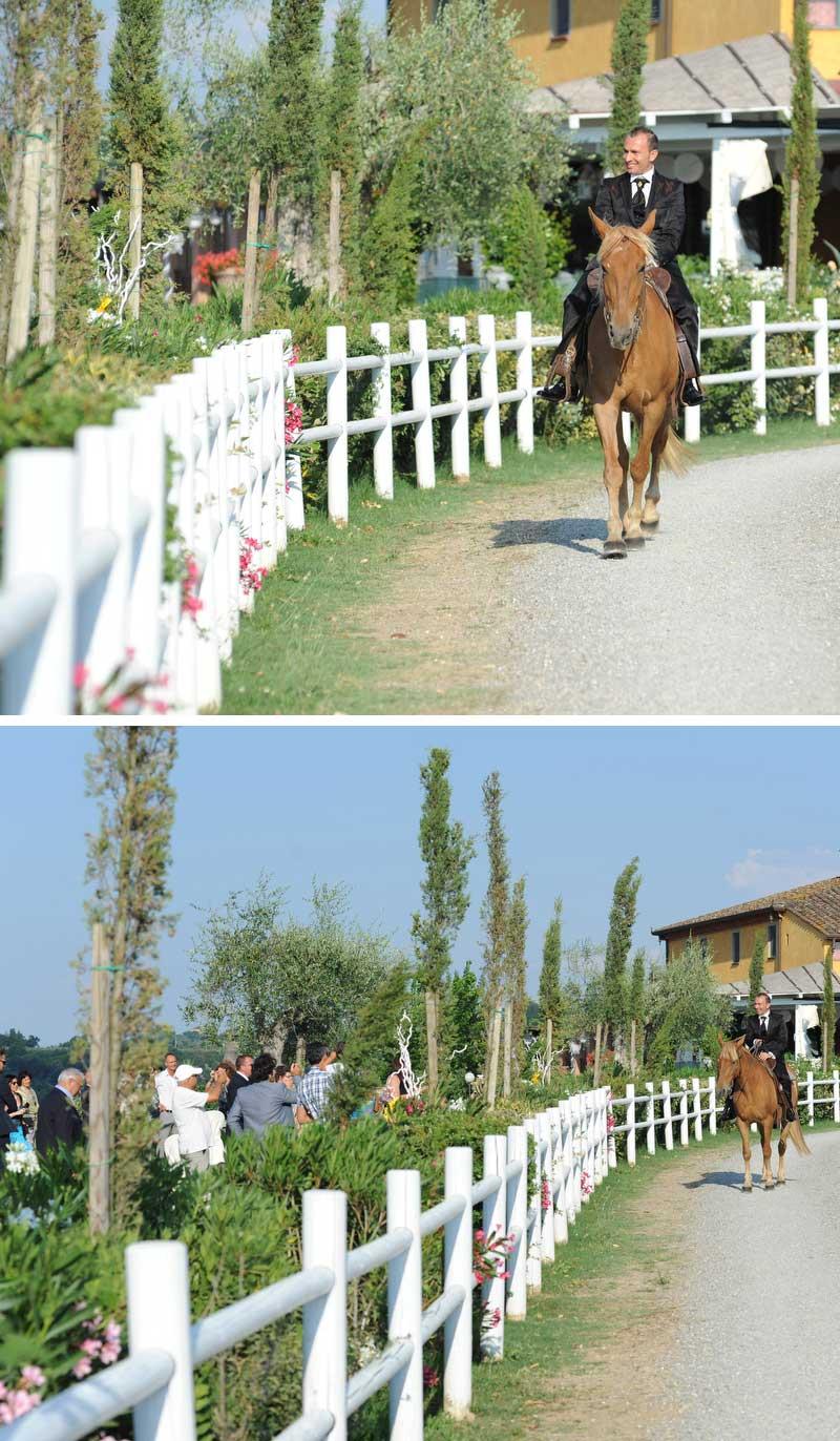lo sposo country chic: a cavallo col completo di pignatelli