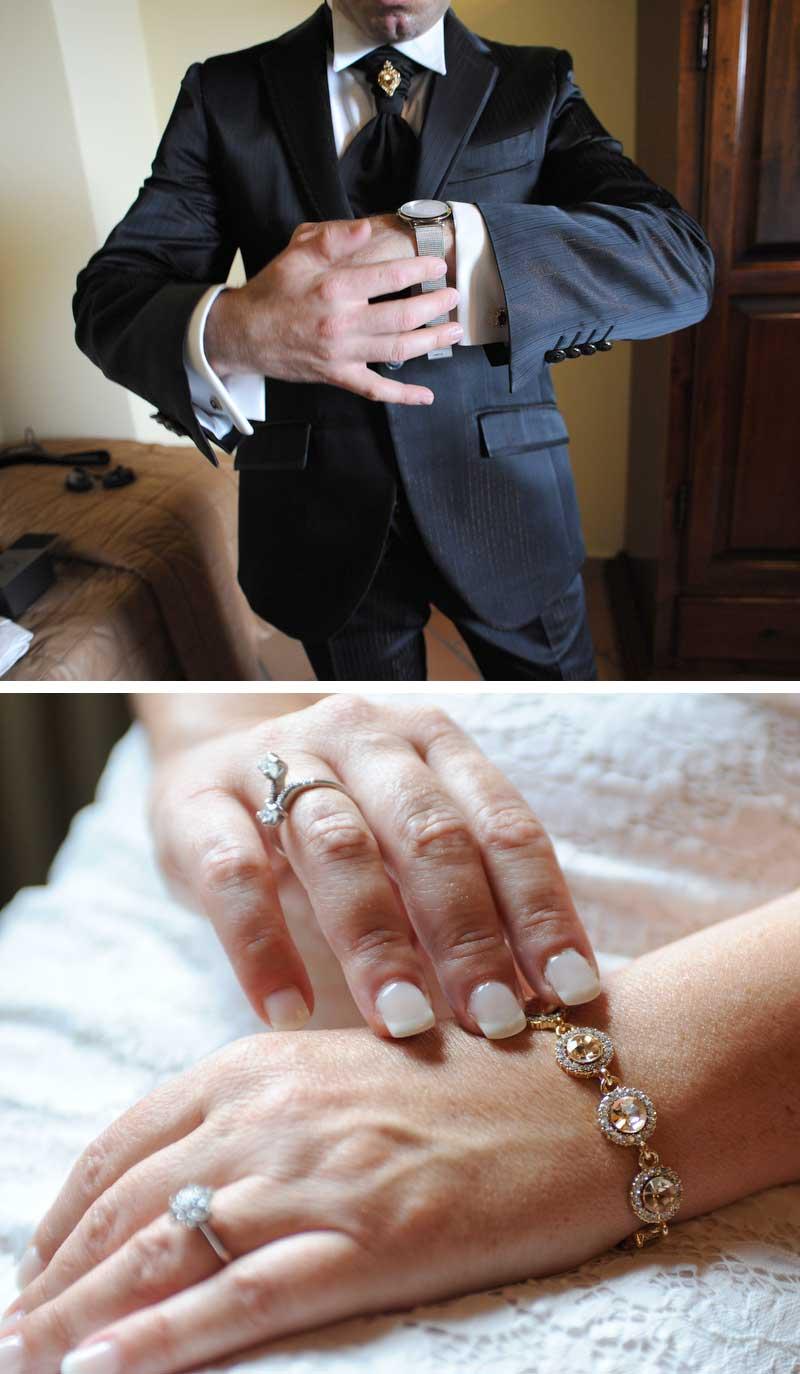 abito sposa country chic: gli accessori degli sposi