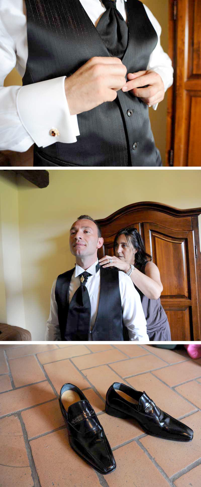 abito sposo per matrimonio country chic