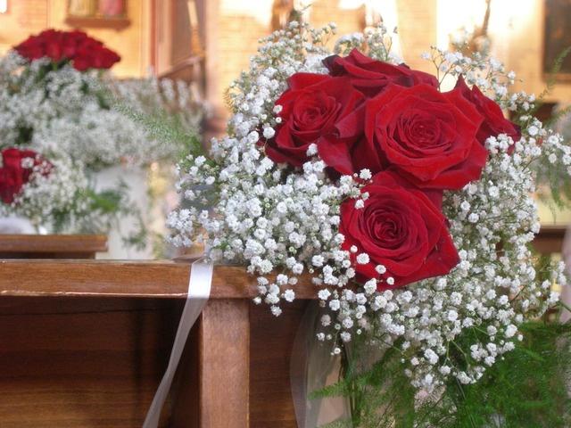 addobbi floreali matrimonio in chiesa