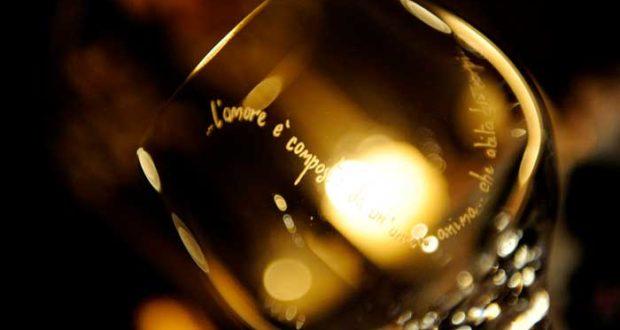 Matrimonio Country Tema Vino - Bicchieri incisi a mano