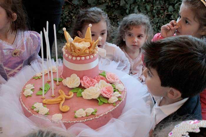 torta di compleanno a tema
