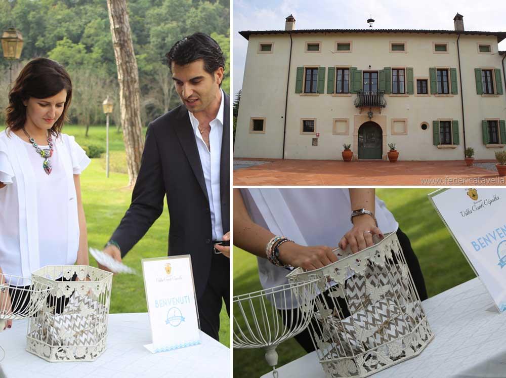 location matrimoni lago di garda Villa Conti Cipolla a Monzambano