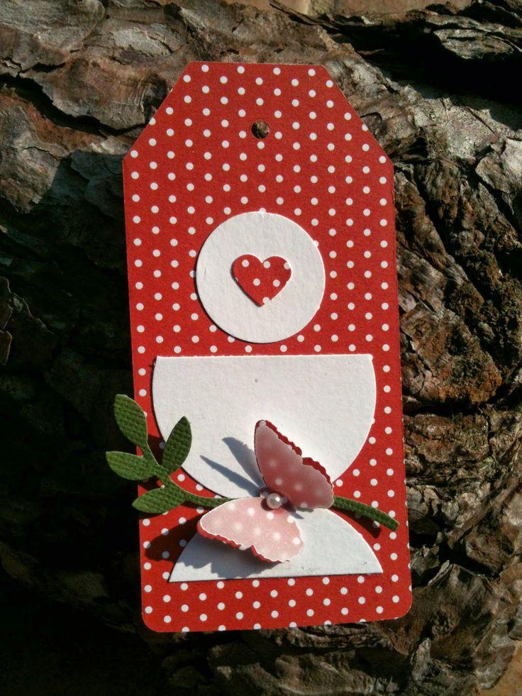 Partecipazioni Comunione con Farfalla Rossa