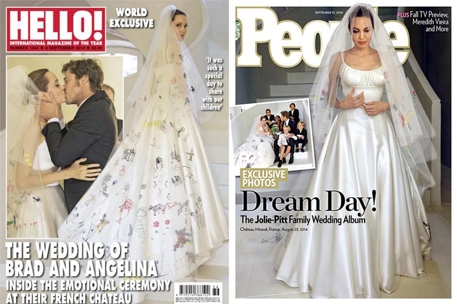 Matrimonio Brad Pitt Angelina Jolie