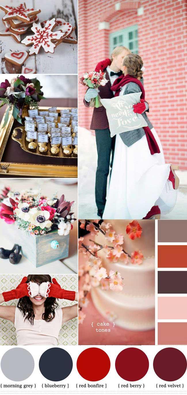 Tema e colori per il matrimonio invernale