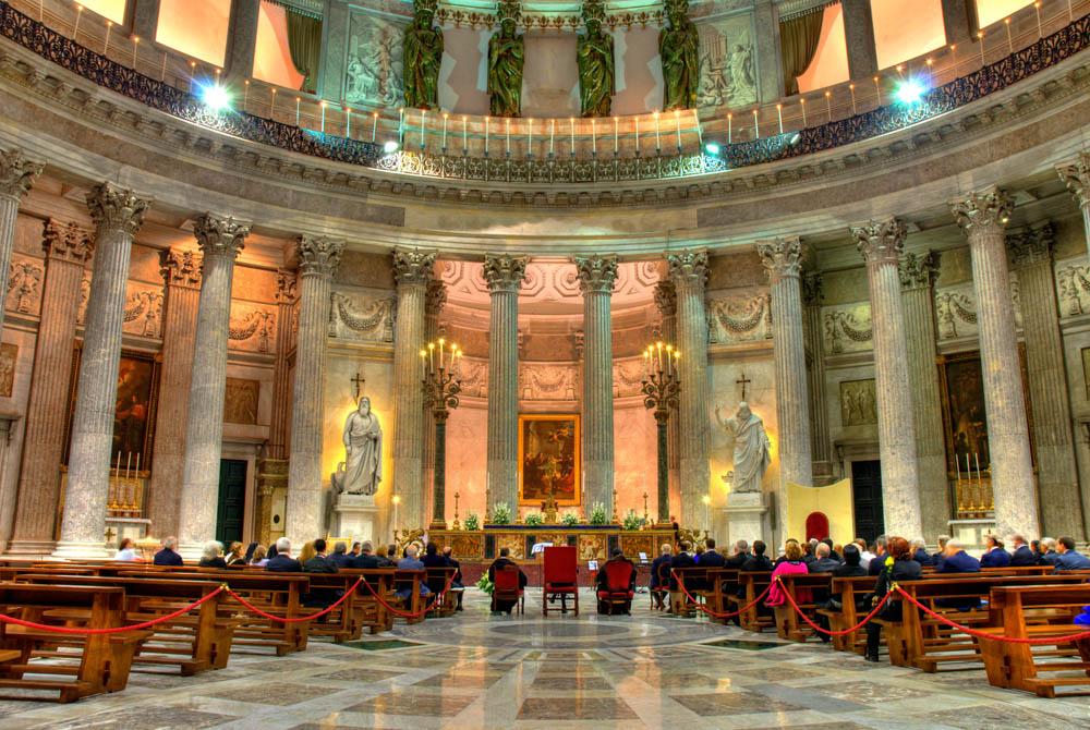 location matrimoni Napoli - Il Santuario di San Francesco di Paola
