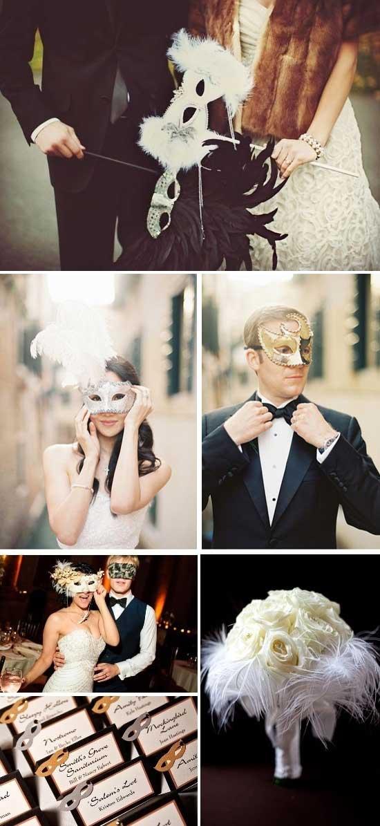 Esempio Matrimonio Invernale a Carnevale