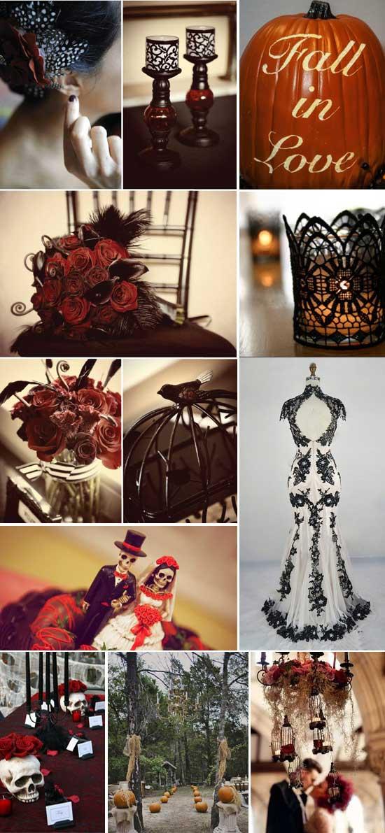 idee matrimonio Invernale tema halloween