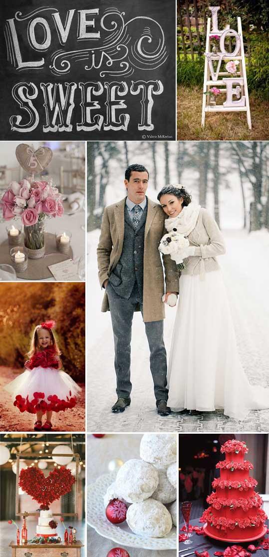 Esempio Matrimonio Invernale a San Valentino