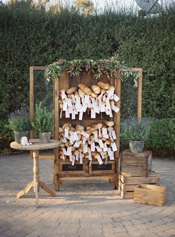 Wedding Table Name | edible wedding table