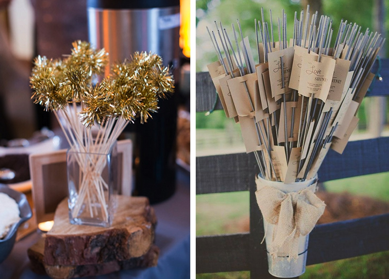 Winter wedding ideas: spirkle