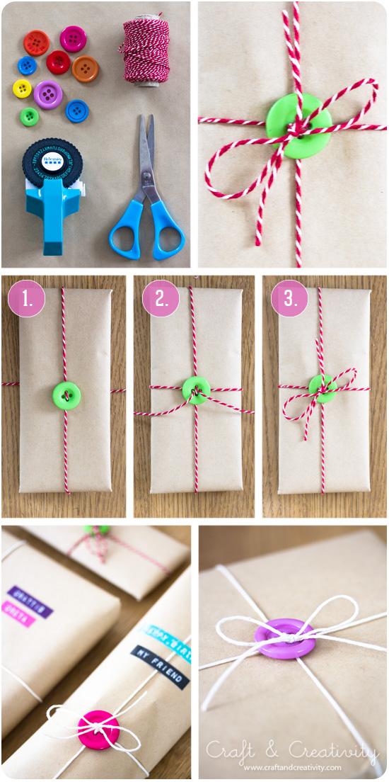 come confezionare un regalo fai da te