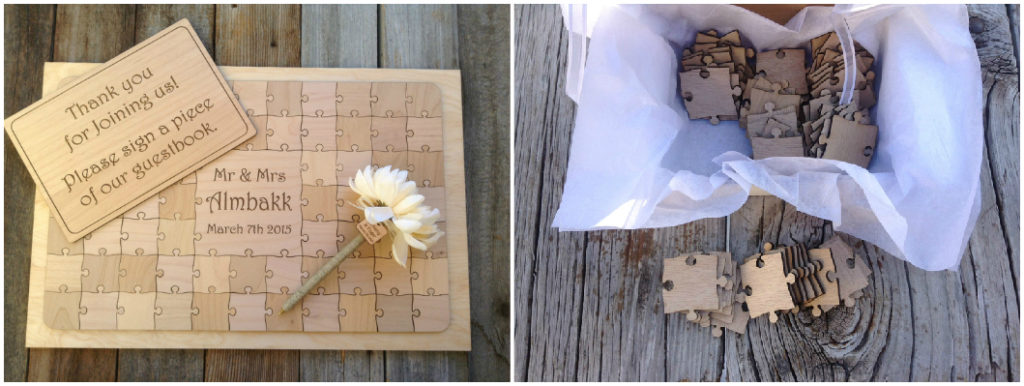 wedding guest book Given2