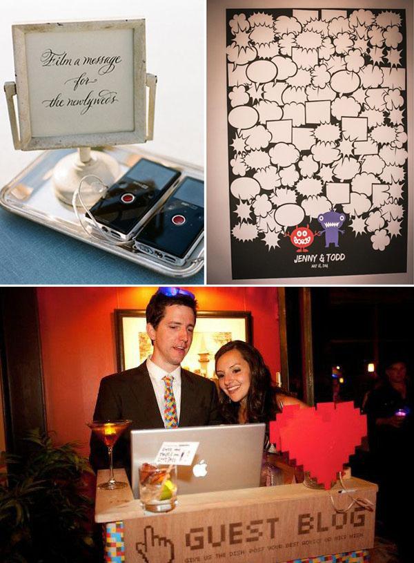 guestbook matrimonio per sposi geek