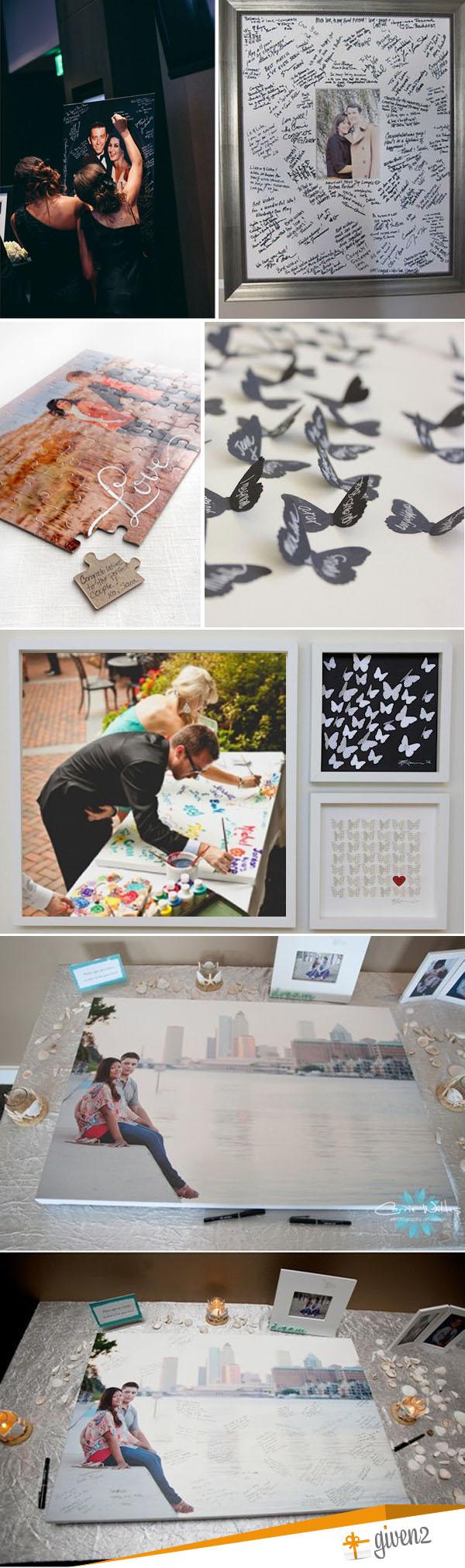 guestbook matrimonio quadro