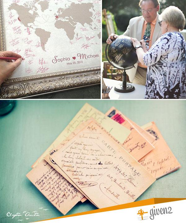 guestbook matrimonio tema viaggio