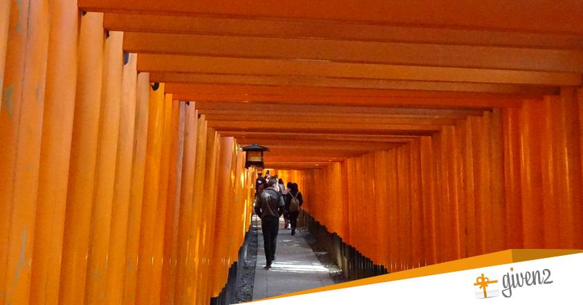 Cosa vedere in Giappone: Kyoto - Fushimi inari shrine temple