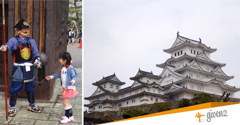 Cosa vedere in Giappone: Osaka - Castello di Himeji
