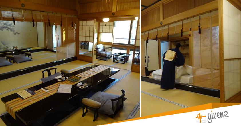 Cosa vedere in Giappone: Kyoto - Ryokan