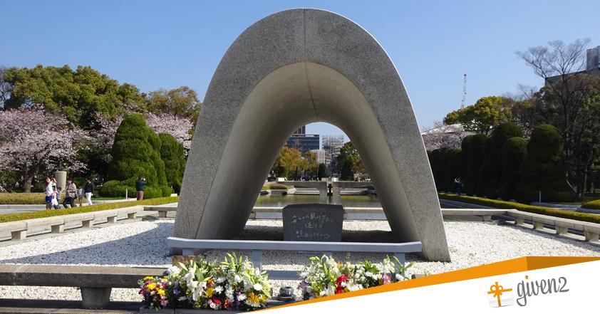 cosa vedere in giappone: Hiroshima - monumento alla memoria