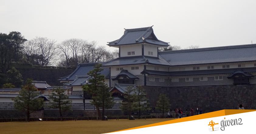 Cosa vedere in Giappone: Kanazawa Castel