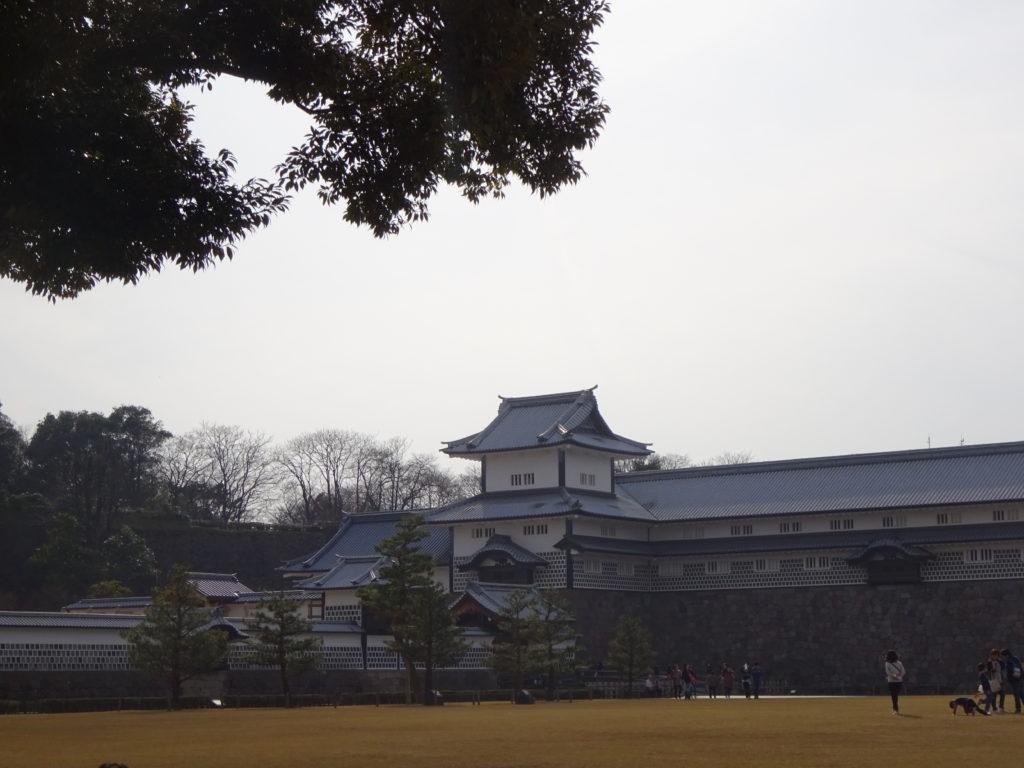japan honeymoon Kanazawa Castle