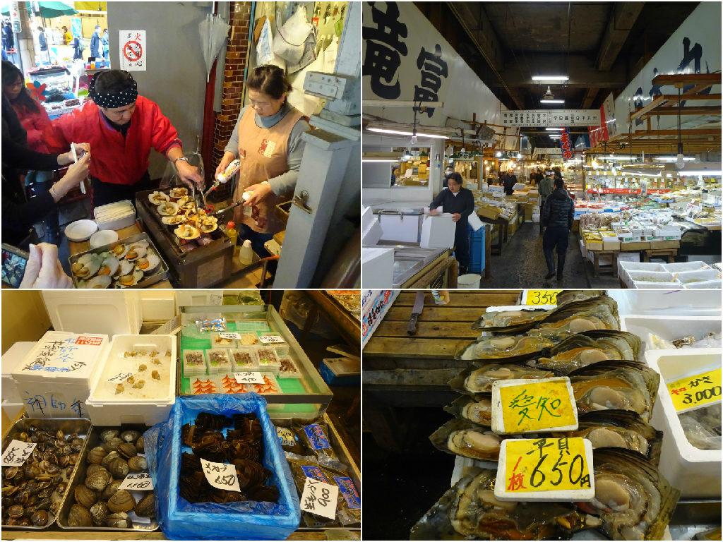 japan honeymoon: Tsukiji Fish Market