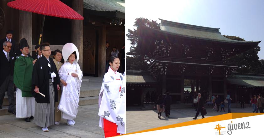 cosa vedere in giappone: Tokyo - Meiji Jinju temple